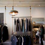 Regal sklepowy odzieżowy LINE 03